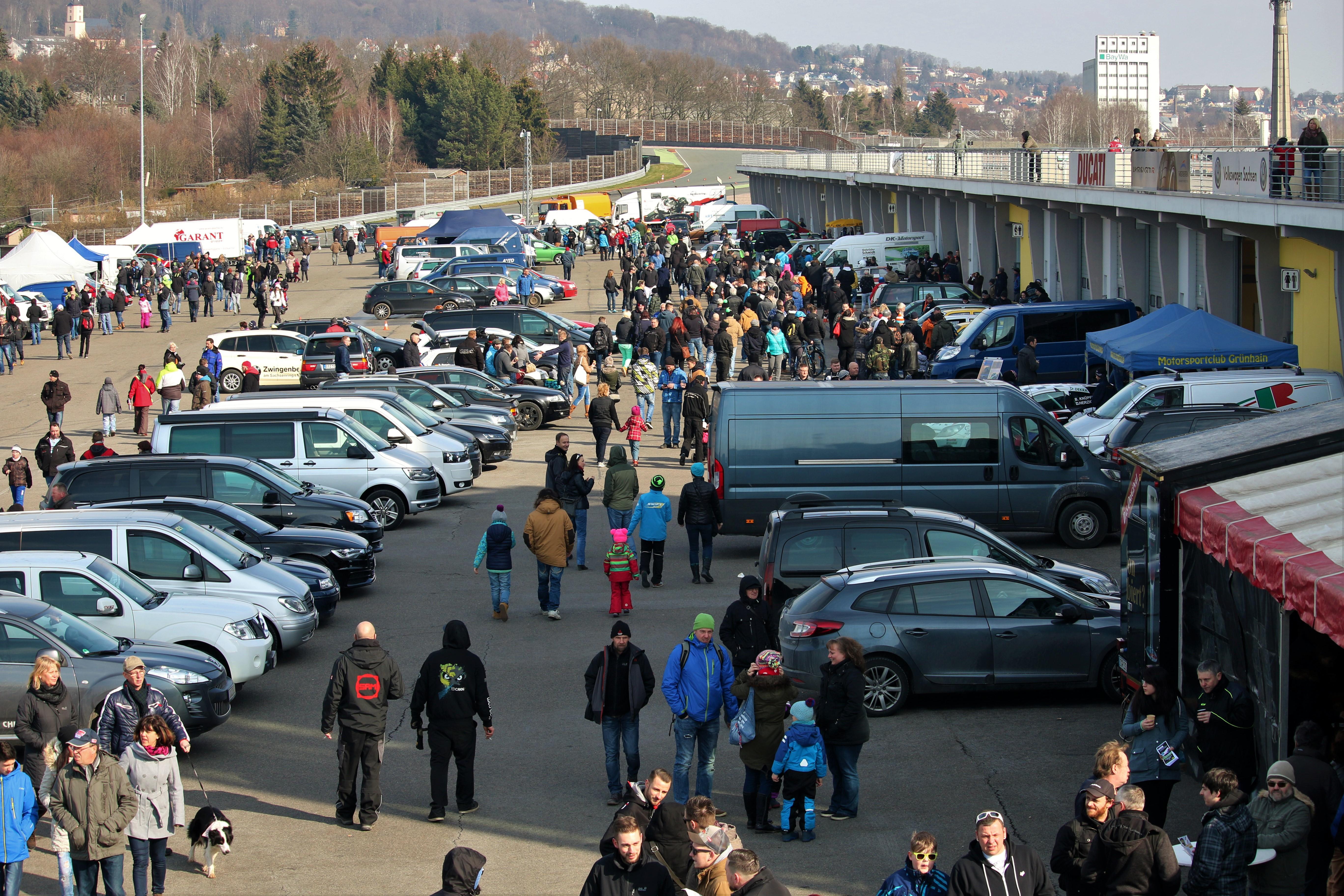 Rallye Show 2016 am Sachsenring ©Roman Pfüller