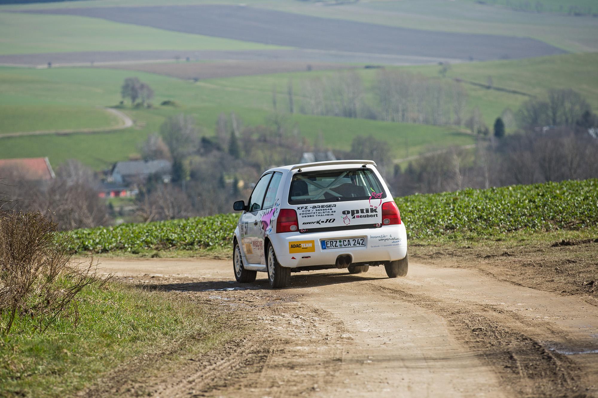 53. Rallye Erzgebirge Tina Wiegand Lupo Foto: Marko Unger