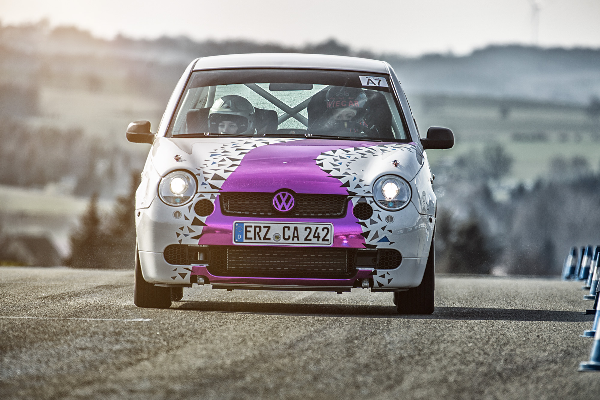 Tina Wiegand Lupinchen VW Lupo GTI Foto: Marko Unger