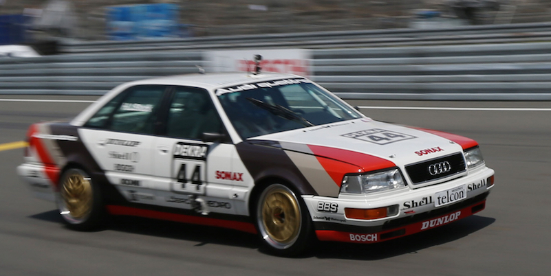 Audi V( in der DTM Foto: Audi Tradition