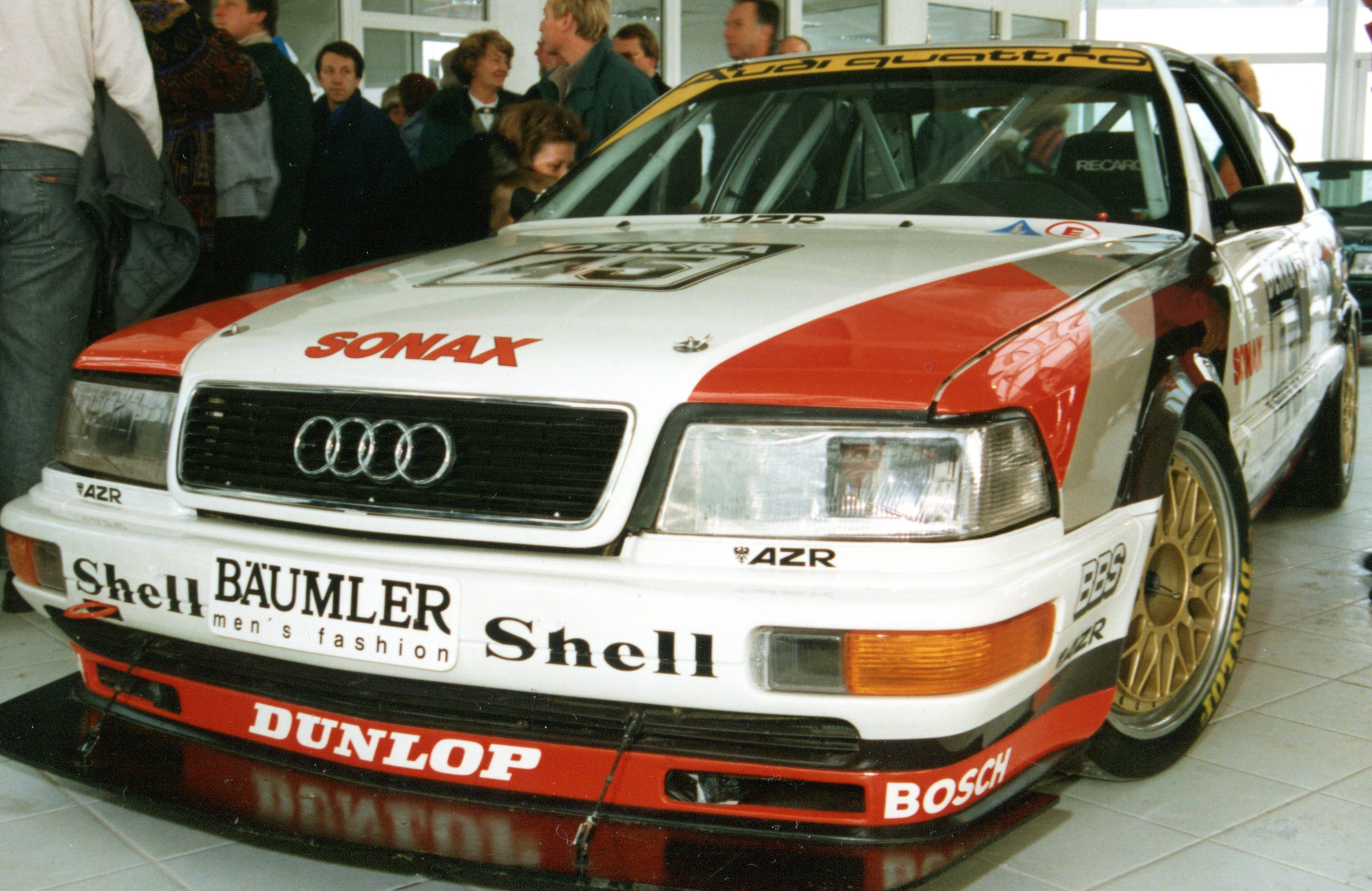 Audi V8 quattro DTM Foto: Audi Tradition