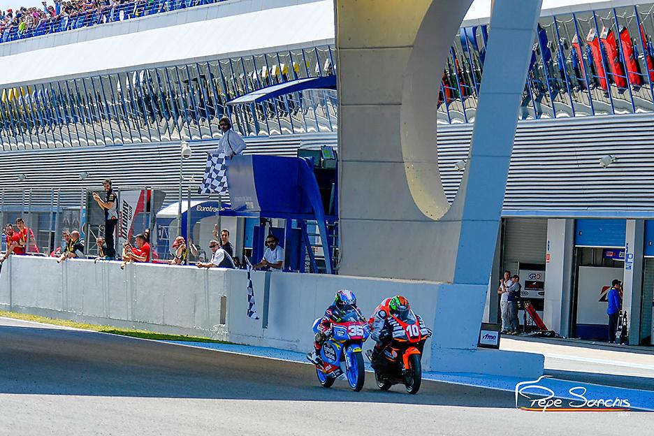 Joshua Bauer bei der Pre-Moto3 2016 in Jerez