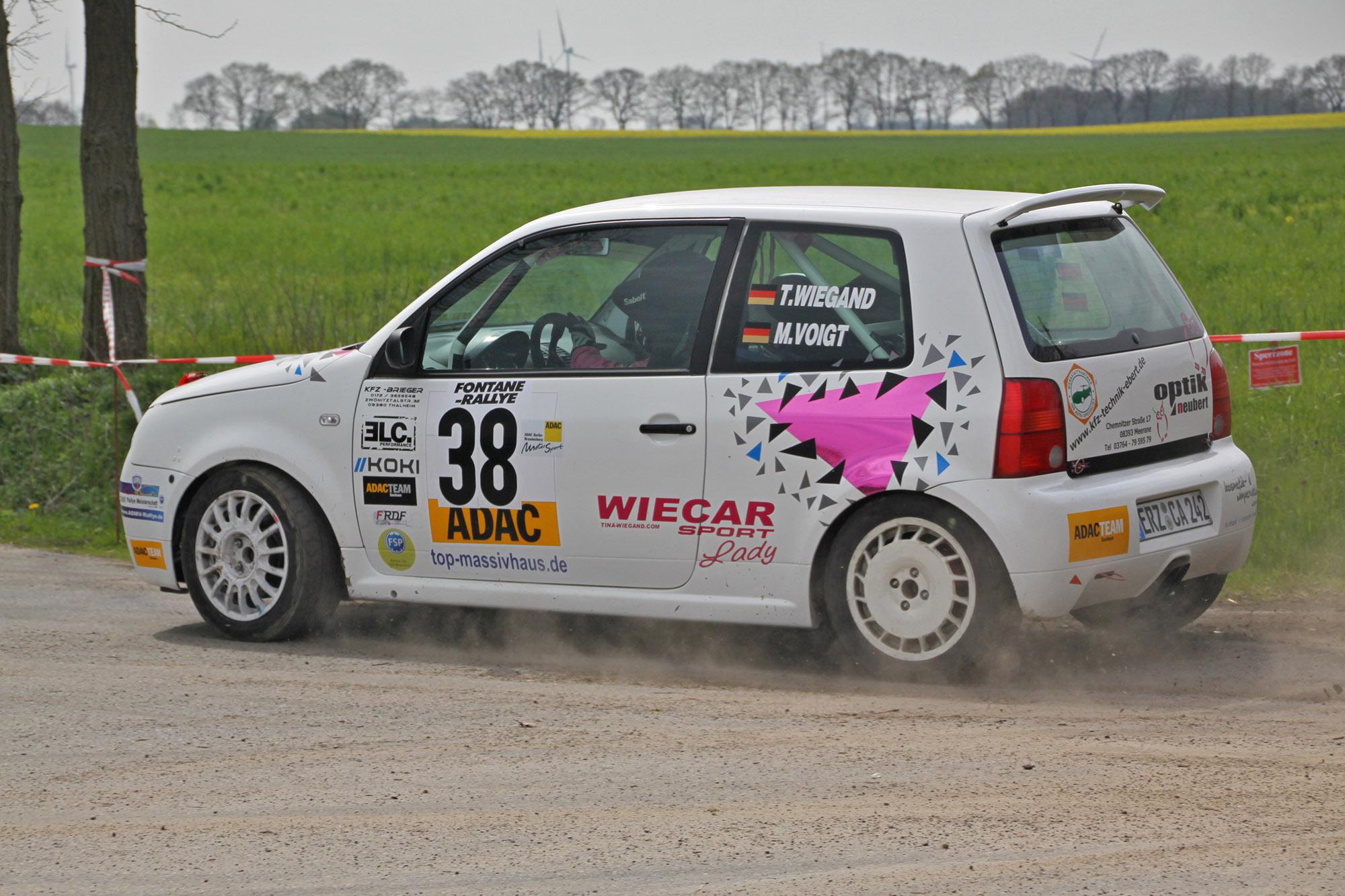 Fontane Rallye 2016 Tina Wiegand und Monique Voigt
