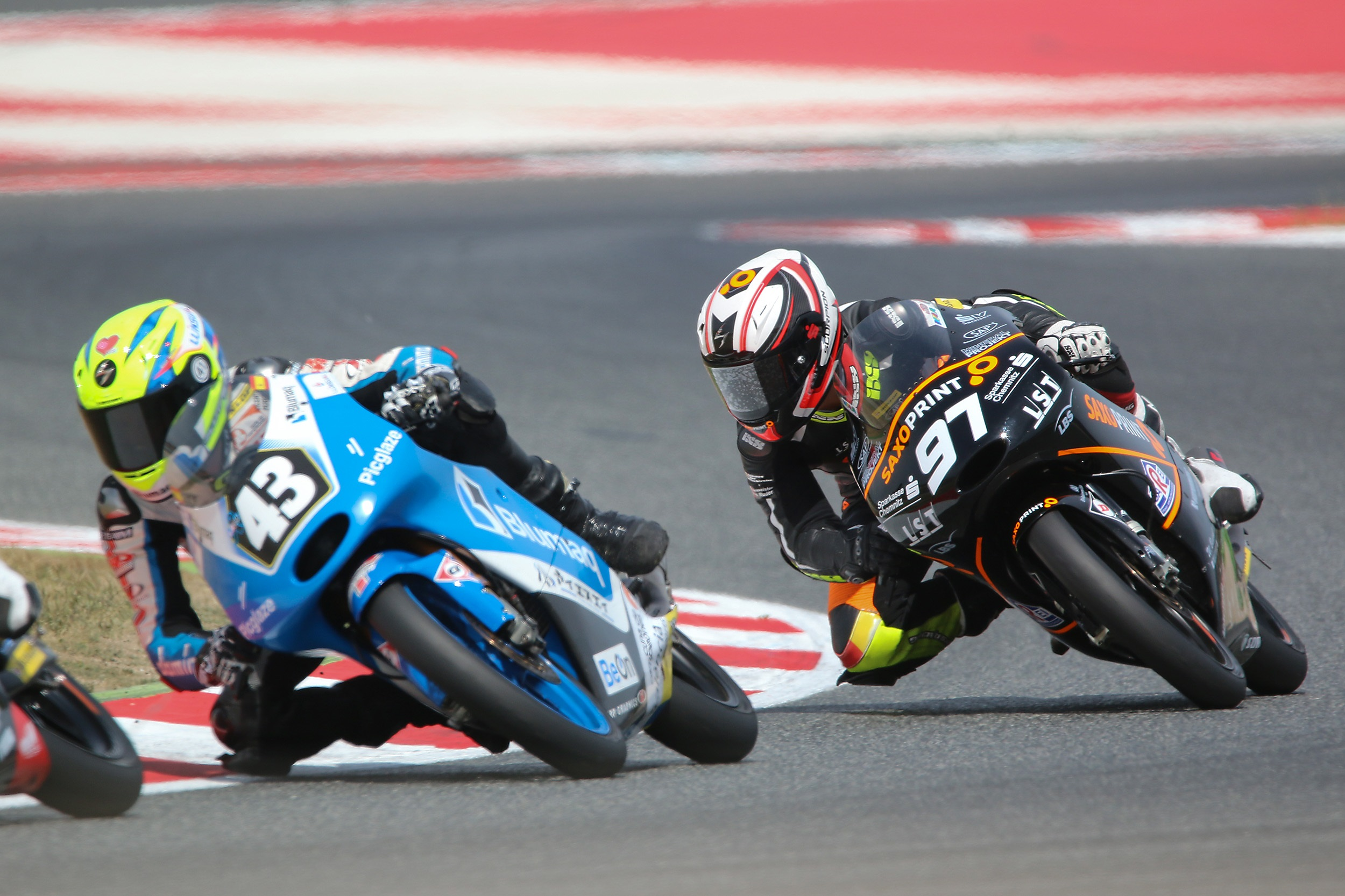 Max Kappler bei der Moto3 Junior World Championship 2016 in Barcelona