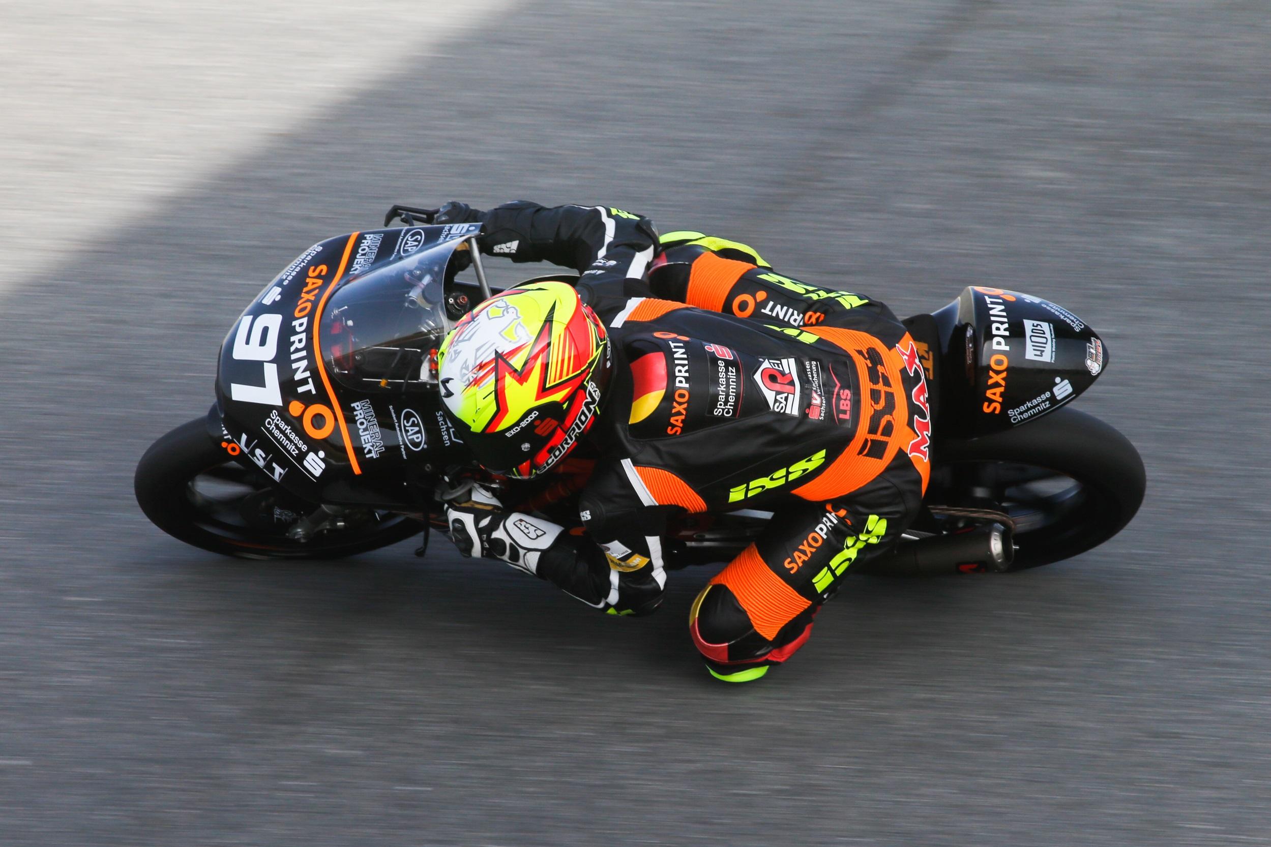 Max Kappler mit Punkterang in der Moto3 zur FIM CEV Repsol 2016 an der Algarve