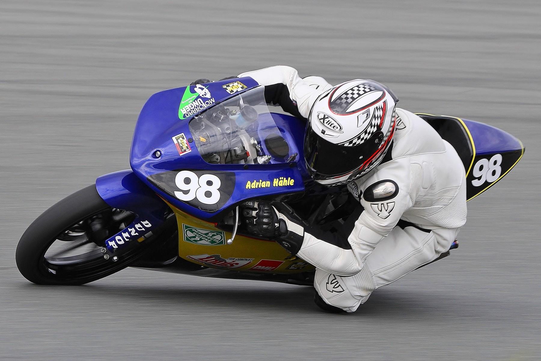 Adrian Hähle beim Rennen in der IG Königsklasse
