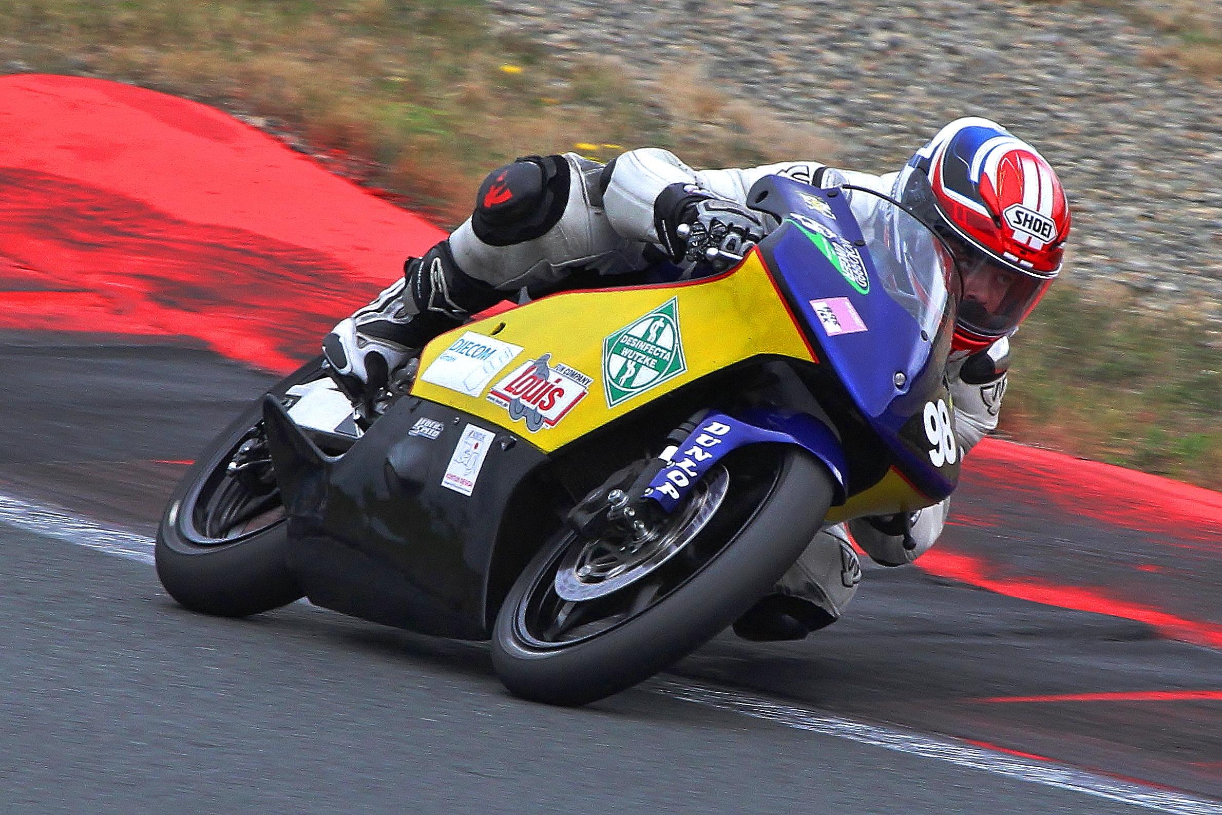Adrian Hähle beim Rennen in der Motorsport-Arena Oschersleben in der IG Königsklasse