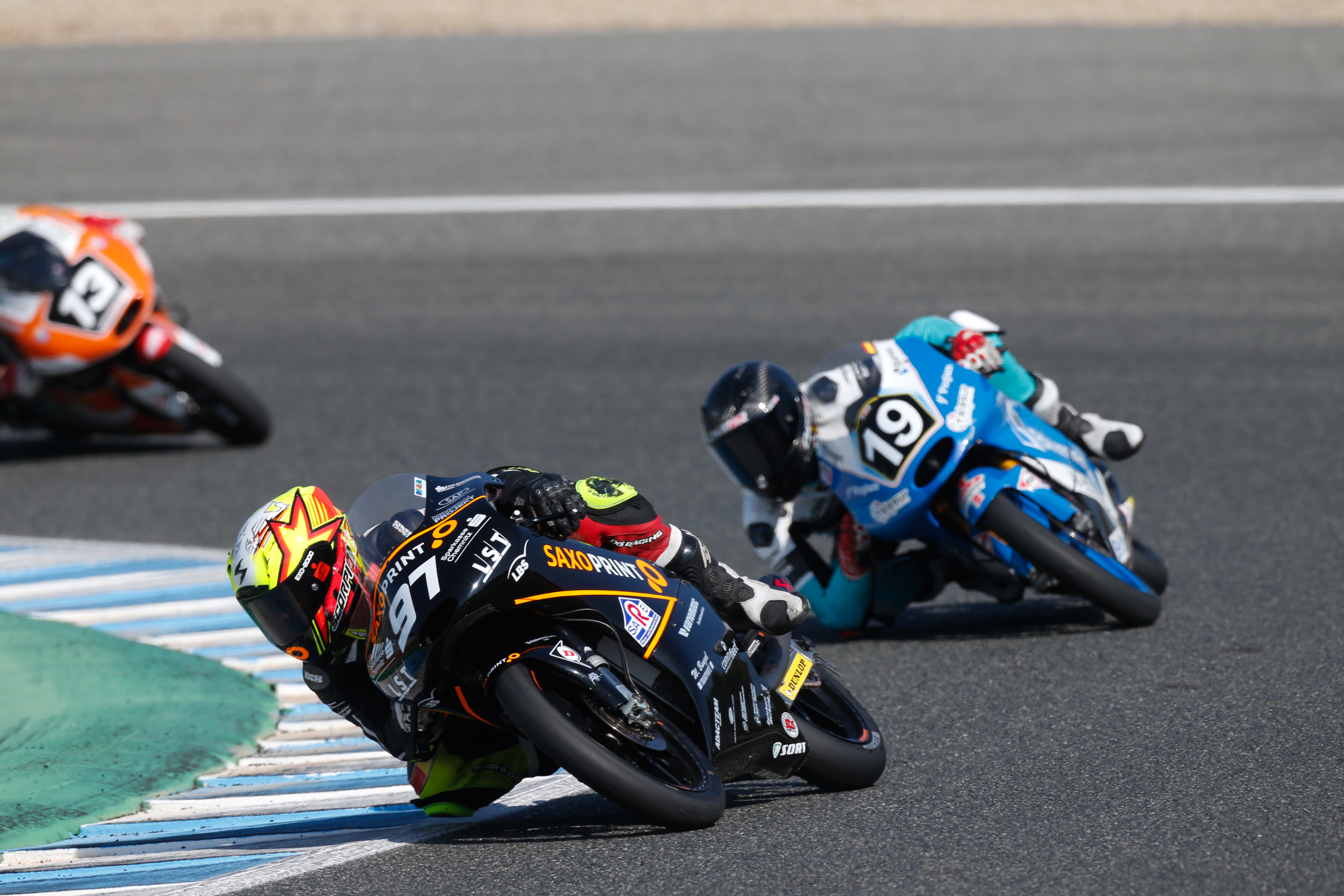 Max Kappler bei der Moto3 Junior World Championship 2016 in Jerez