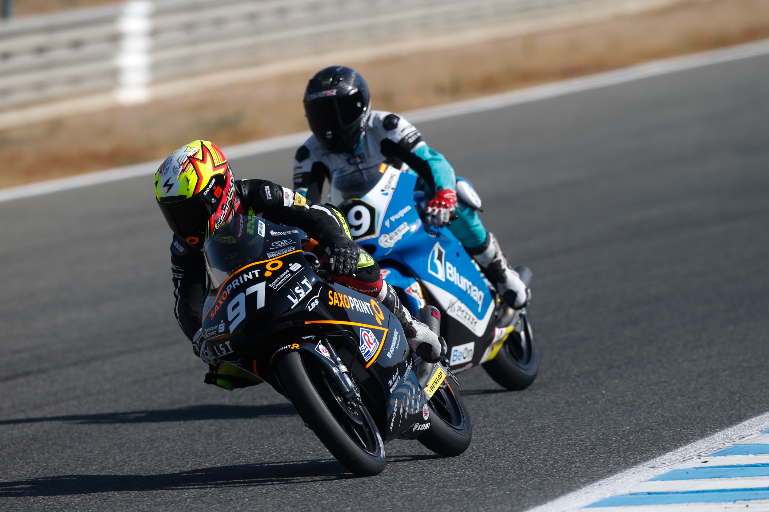 Max Kappler auf KTM bei der Moto3 Junior World Championship 2016 in Jerez de la Frontera