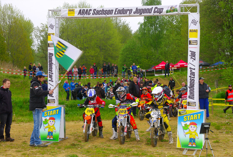 ADAC Sachsen Enduro Jugend Cup in Kemmlitz 2017