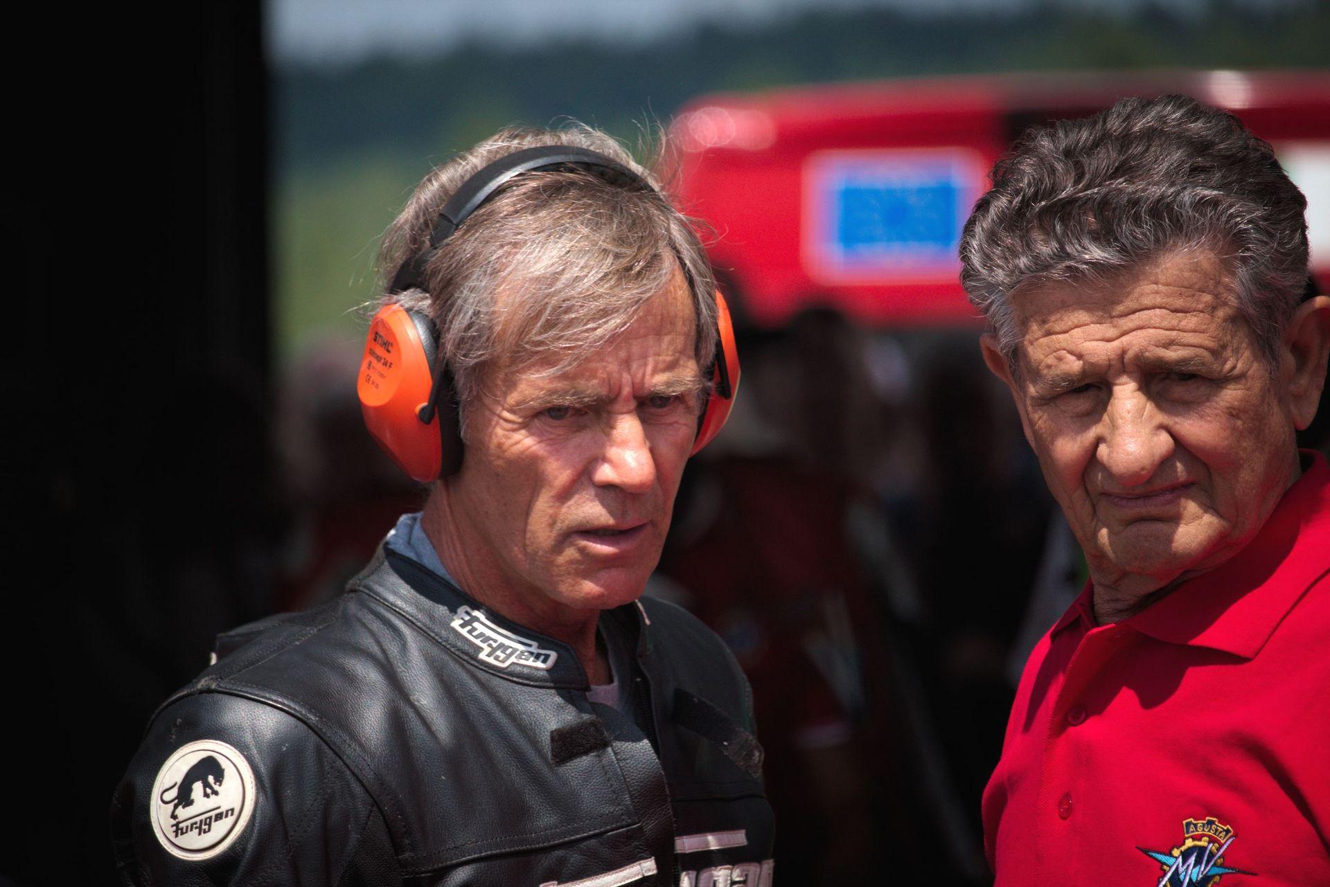 Gianfranco Bonera und Gilmo Paglini zur Sachsenring Classic 2017