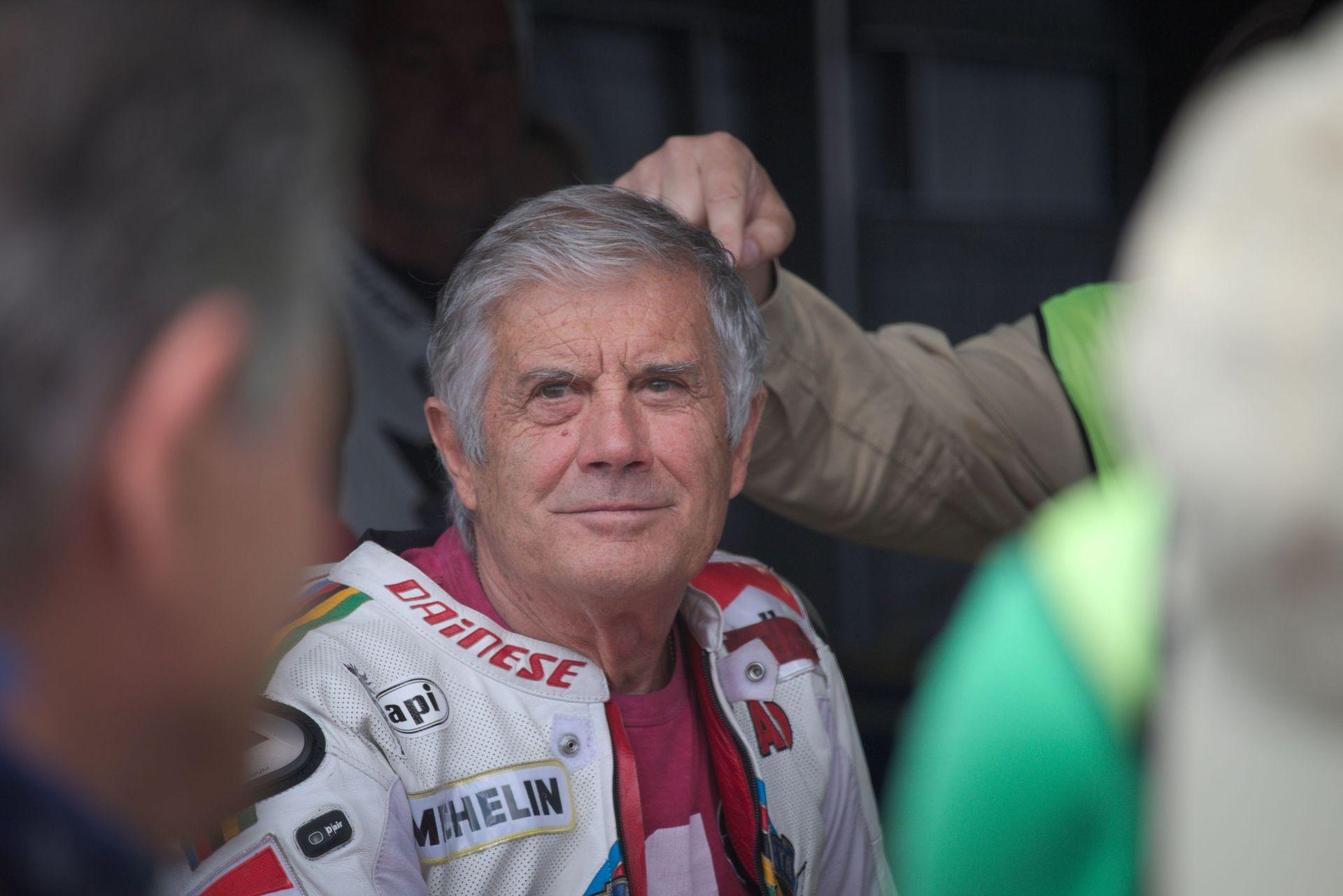 Giacomo Agostini am Sachsenring 2017