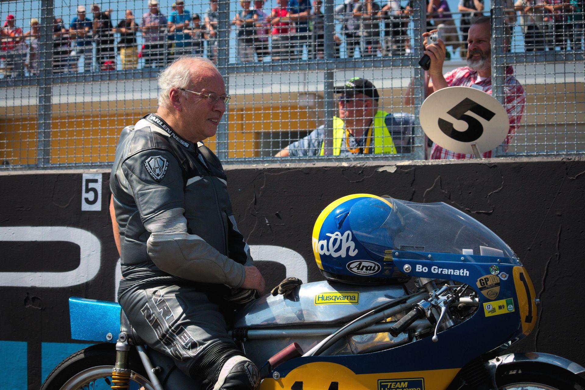Bo Granath zur Sachsenring Classic 2017