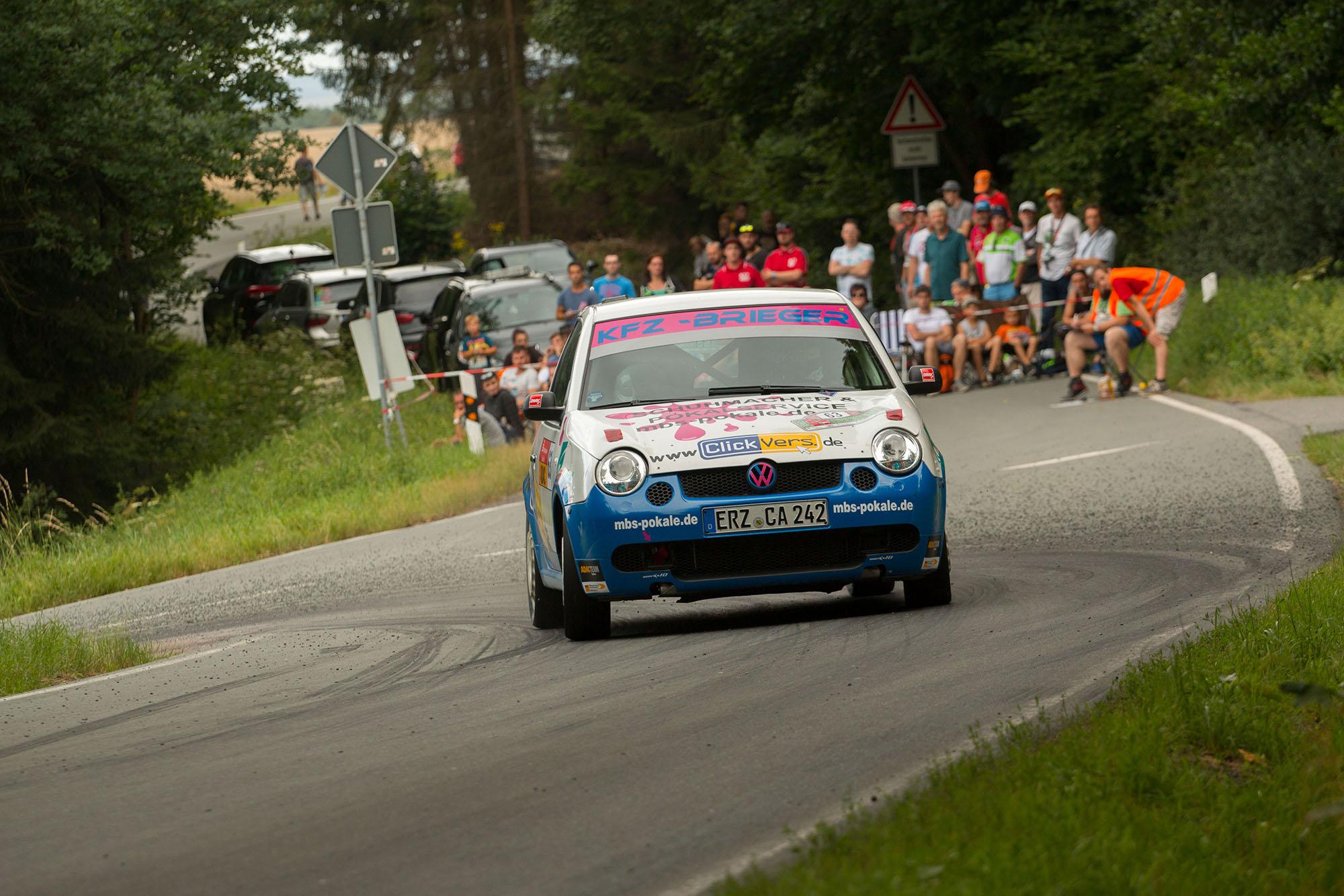 Tina Wiegand und Chioma Monix bei der Rally Thüringen 2017