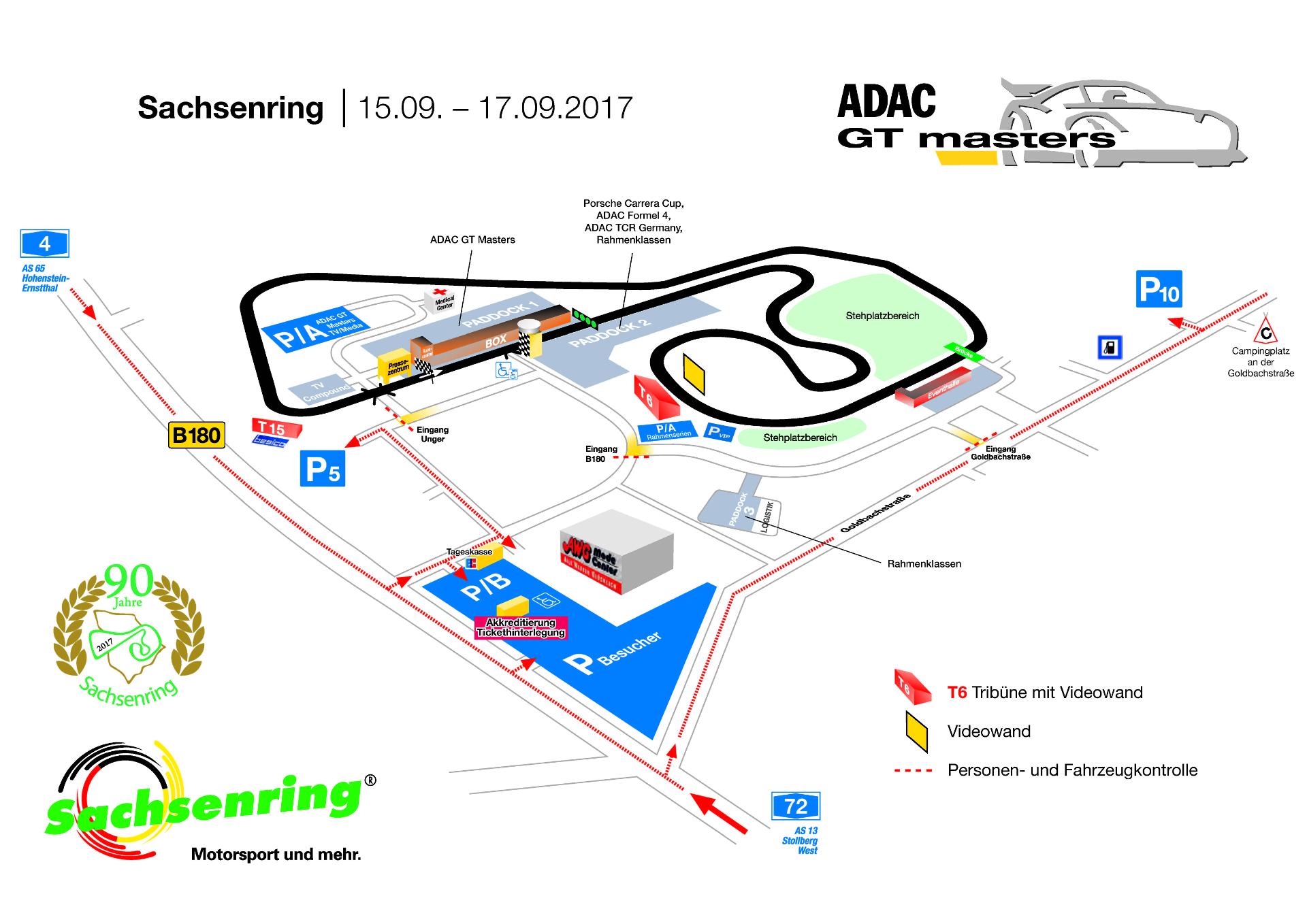 Plan zur ADAC Plan GT Masters 2017