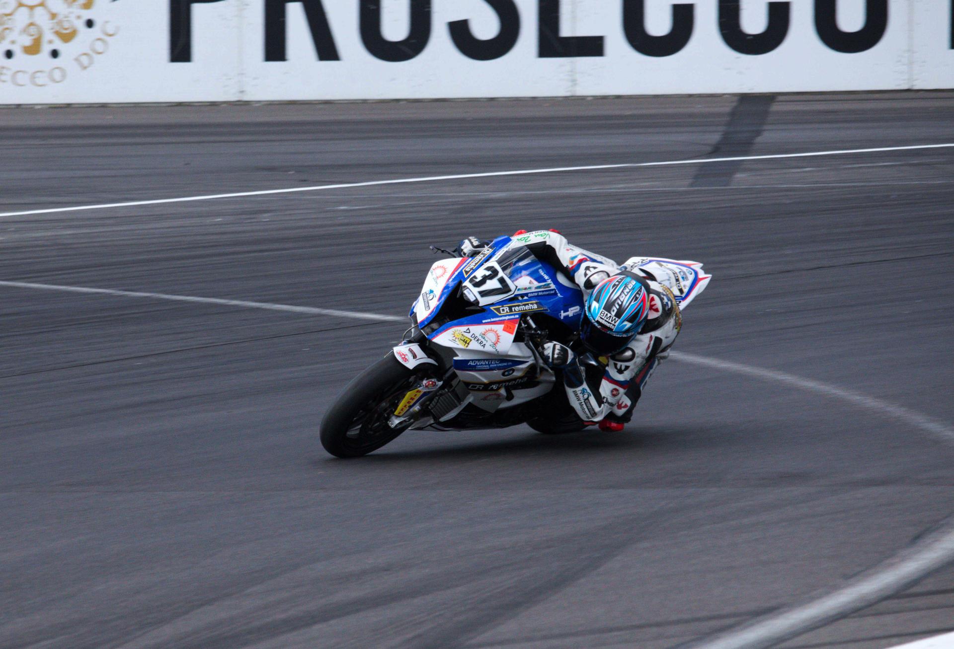 Arnaud Friedrich 2017 bei der IDM am Lausitzring