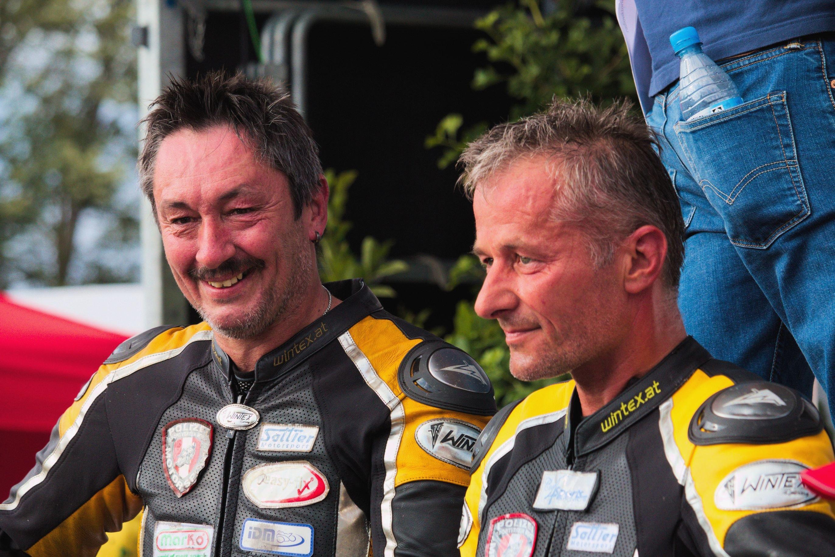 Josef Sattler und Uwe Neubert Sattler Motorsport 2017 IDM Sidecar Schleiz