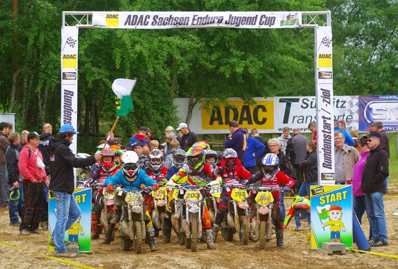 ADAC Sachsen Enduro Jugend Cup 2017 in Neiden