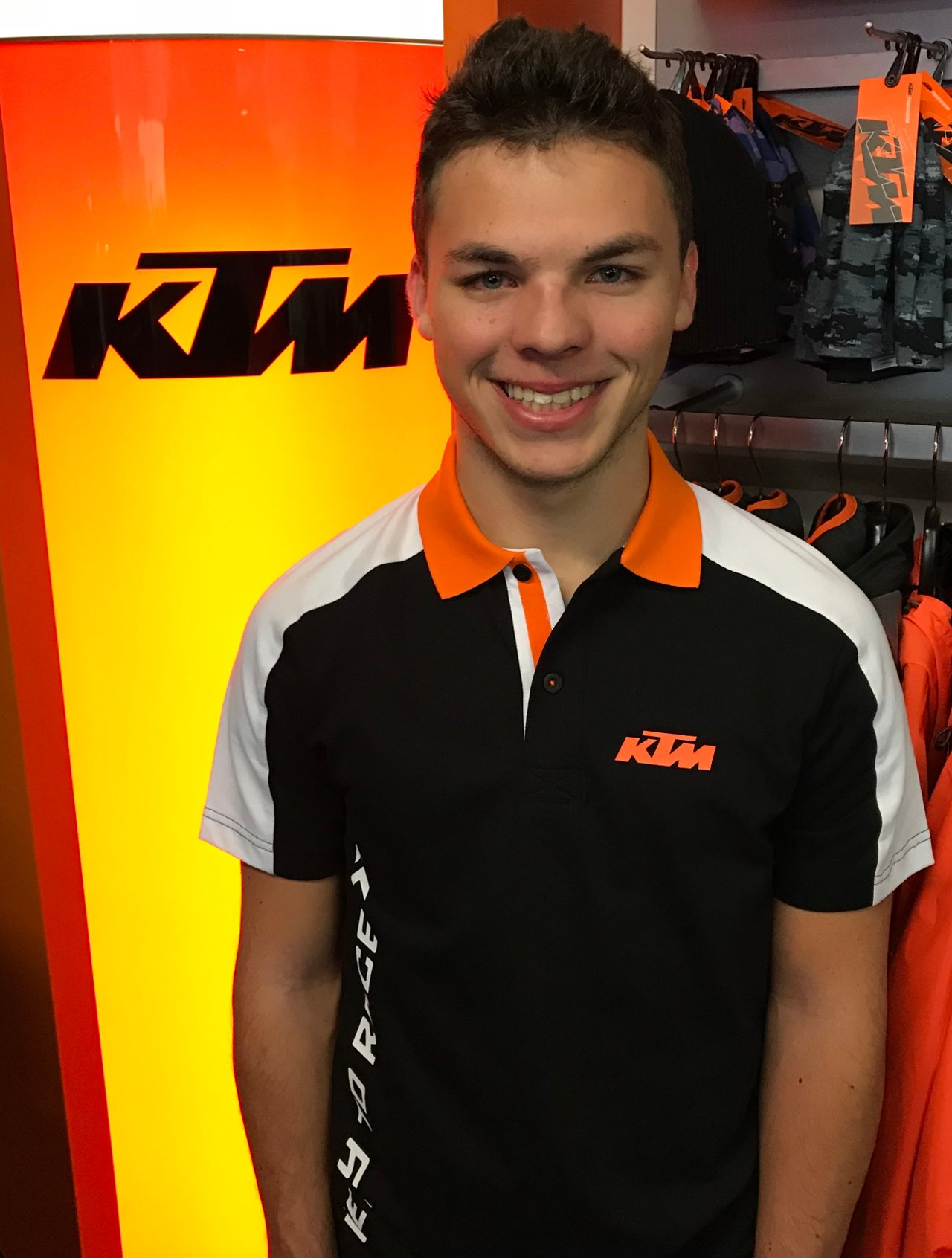 Max Kappler 2018 auf KTM in der SSP300-WM