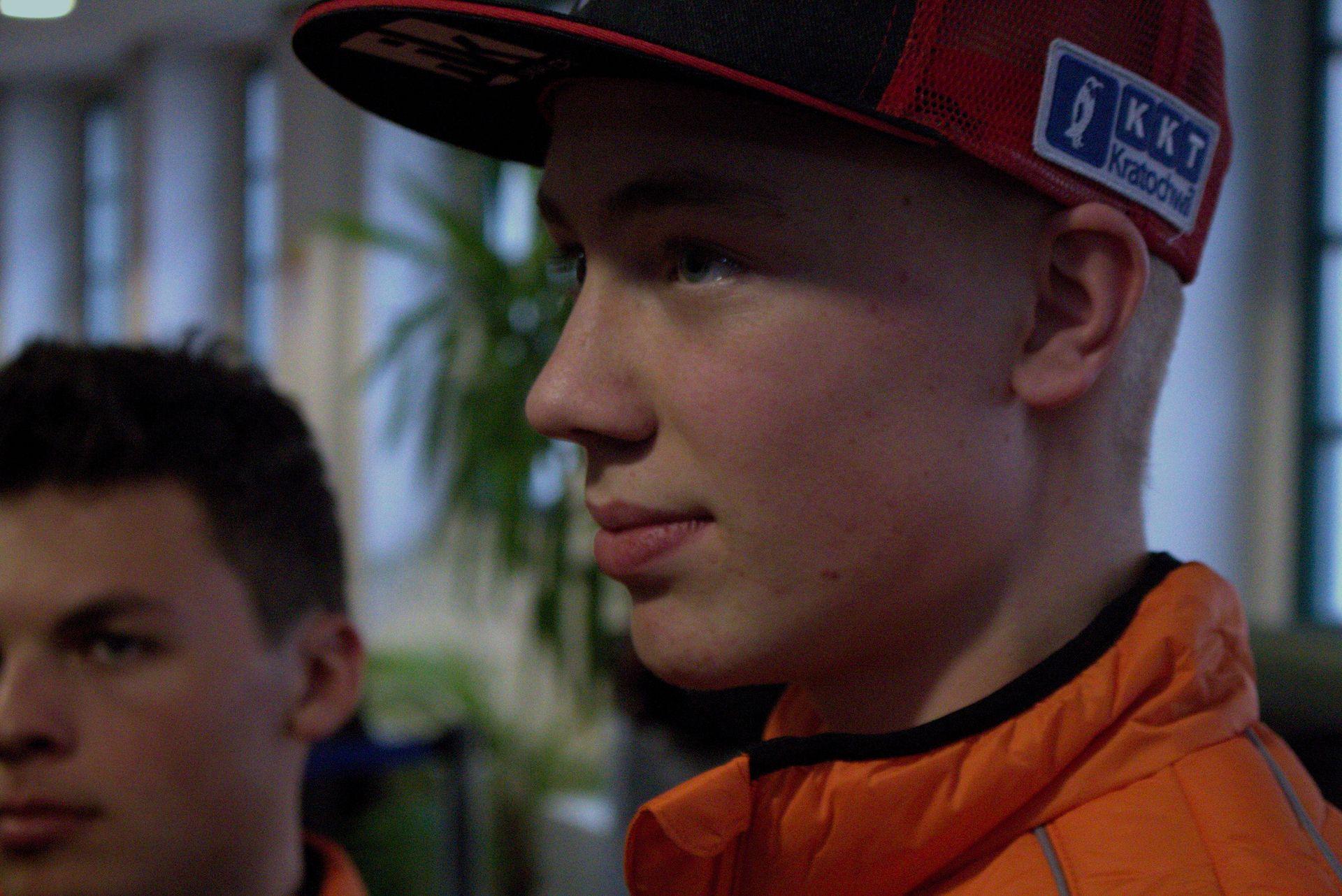 Jan-Ole-Jähnig - Freudenberg KTM World SSP Team auf der Sachsenkrad 2018