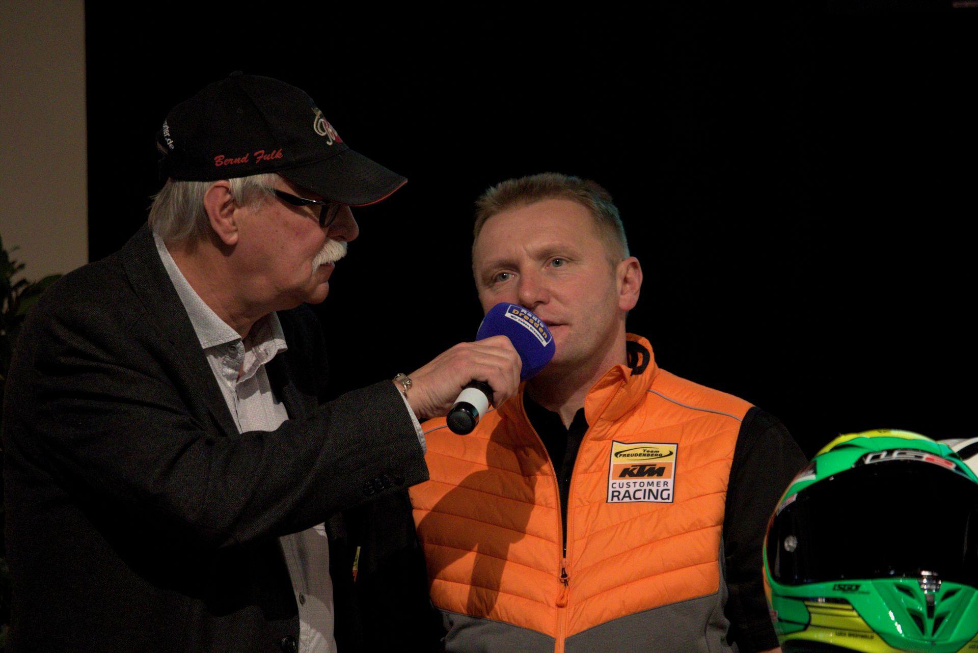 Carsten Freudenberg - Freudenberg KTM World SSP Team auf der Sachsenkrad 2018