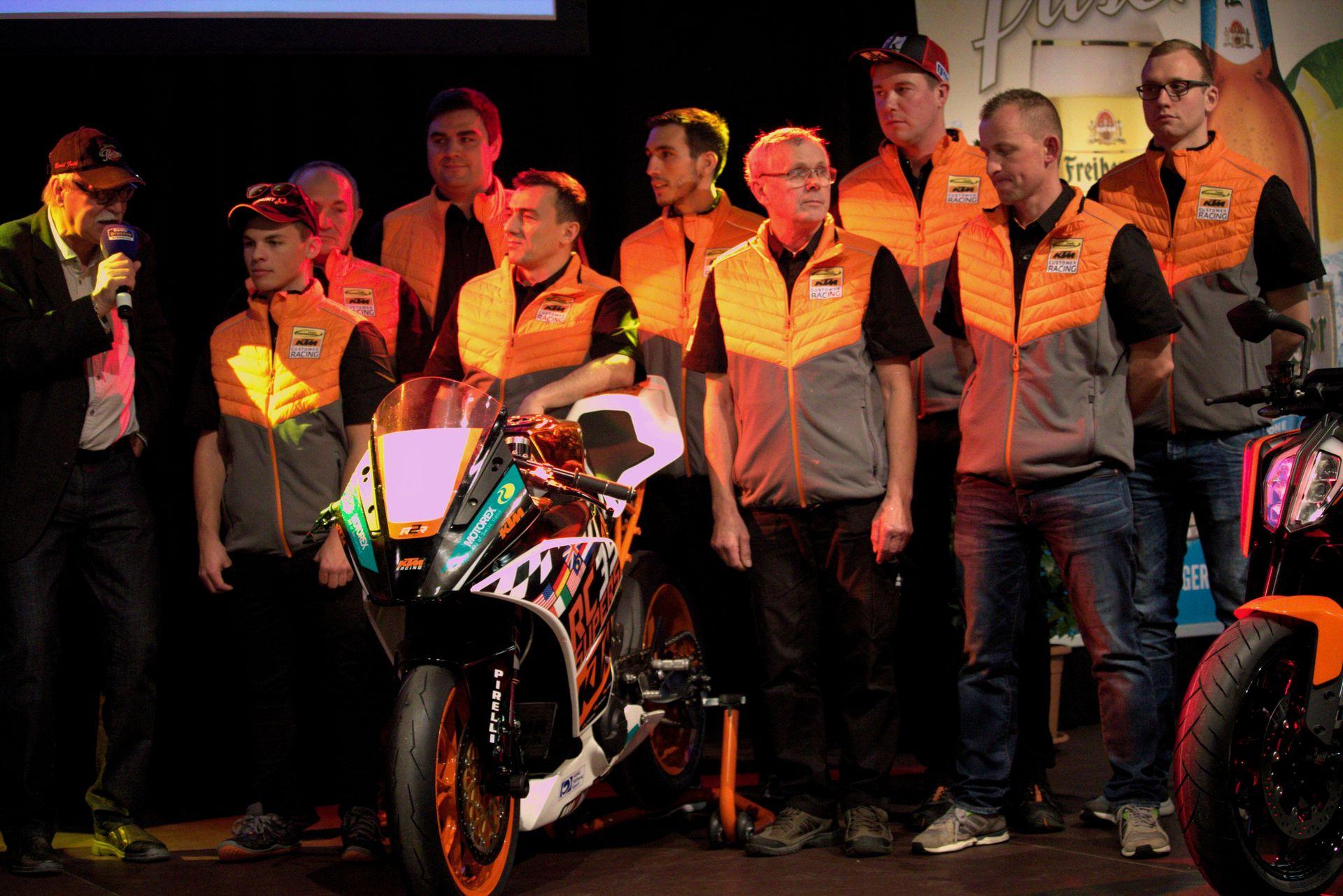 Freudenberg KTM World SSP Team auf der Sachsenkrad 2018