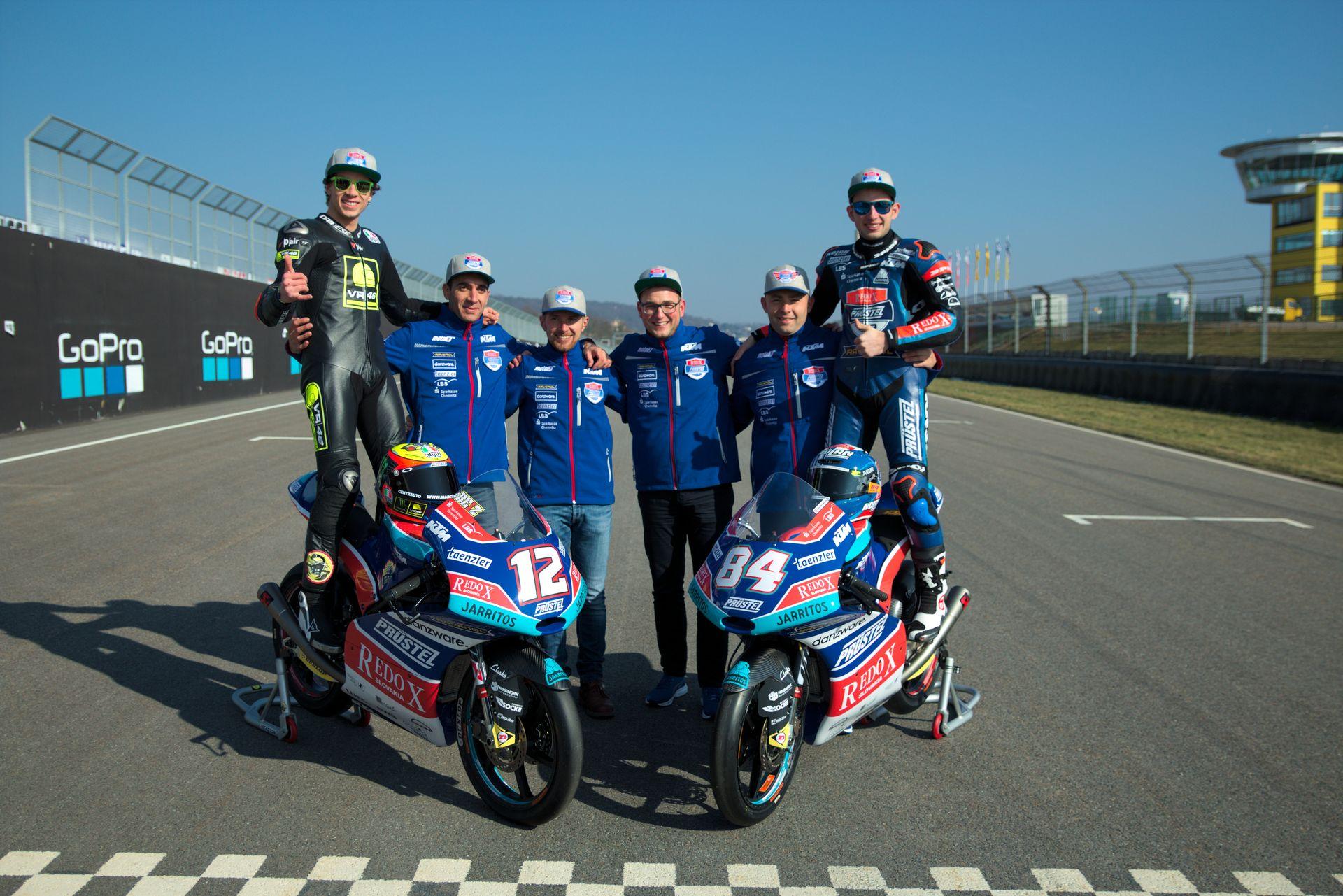 PrüstelGP mit Marco Bezzecchi und Jakub Kornfeil am Sachsenring 2018