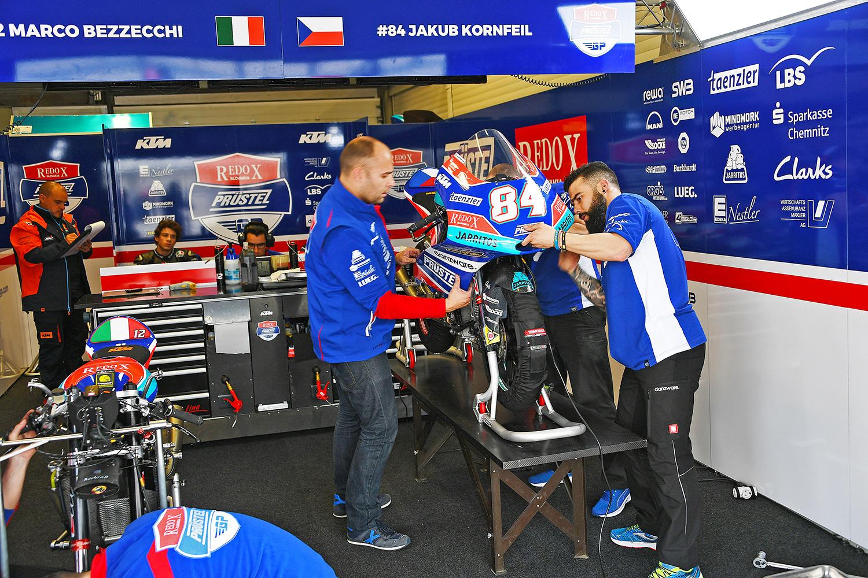 PrüstelGP 2018 beim IRTA-Test in Jerez