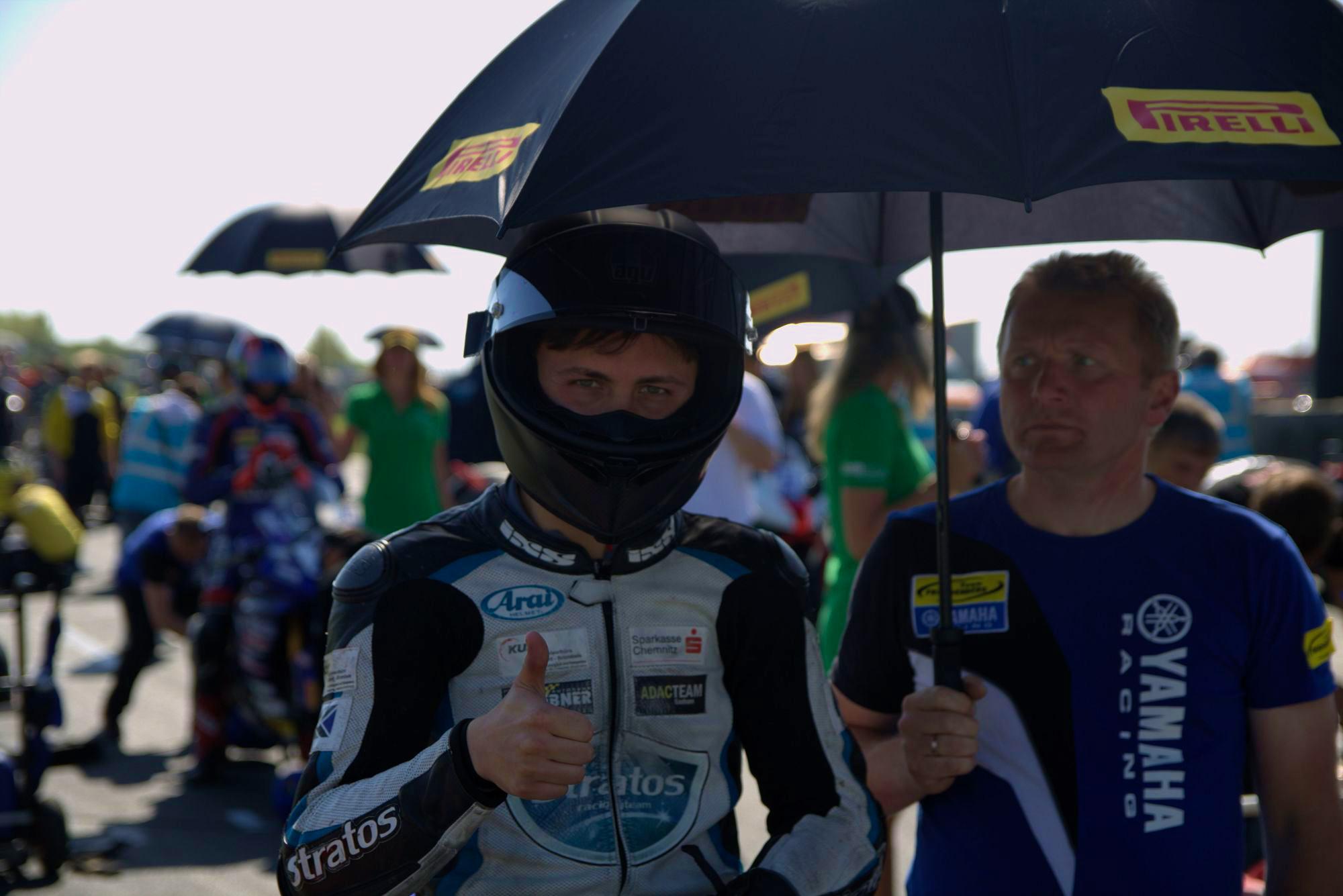 IDM 2018 Motorsportarena Oschersleben - Max Enderlein - Freudenberg WorldSSP Team