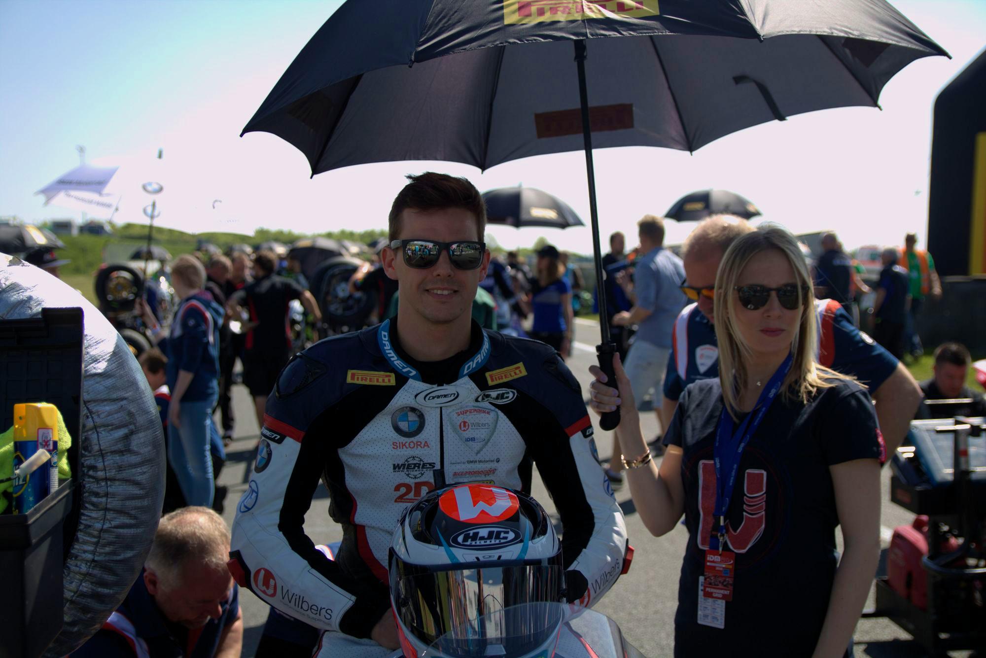 IDM 2018 Motorsportarena Oschersleben - Bastien Mackels, - Wilbers-BMW-Racing