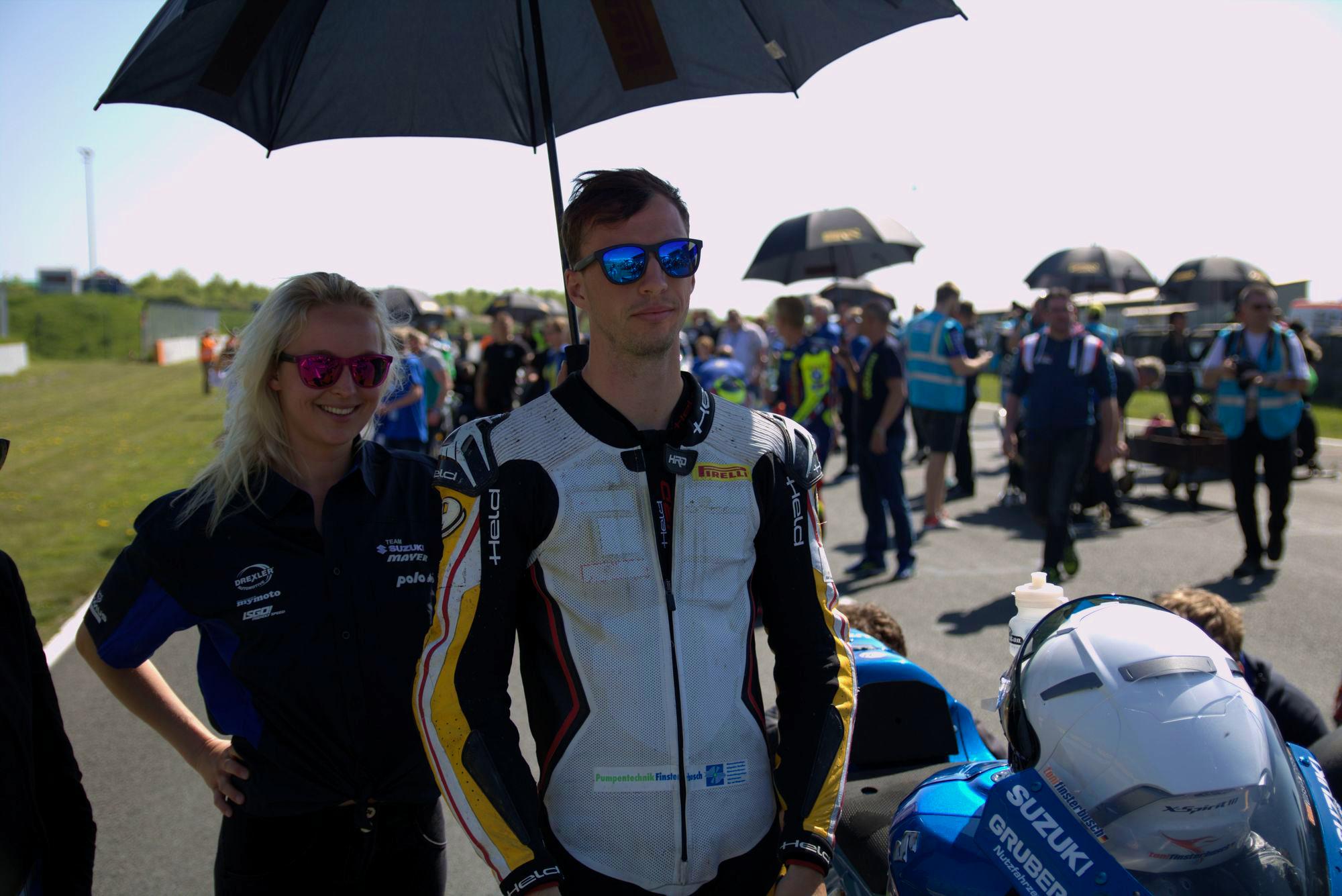 IDM 2018 Motorsportarena Oschersleben - Toni Finsterbusch - Team Suzuki Mayer