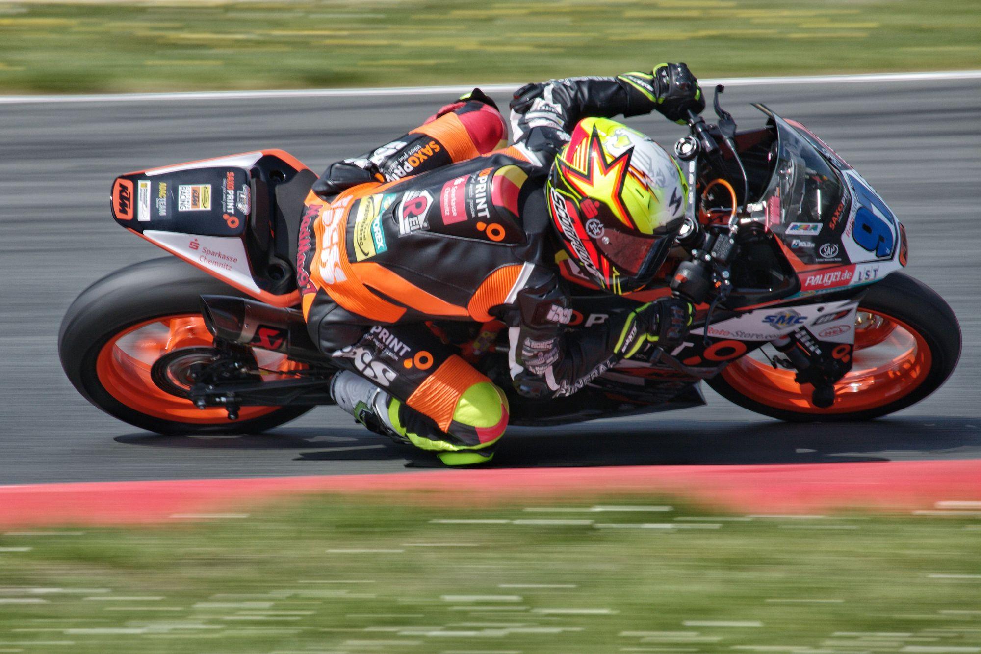 Max Kappler Freudenberg WorldSSP Team IDM SSP300 in der Motorsportarena Oschersleben