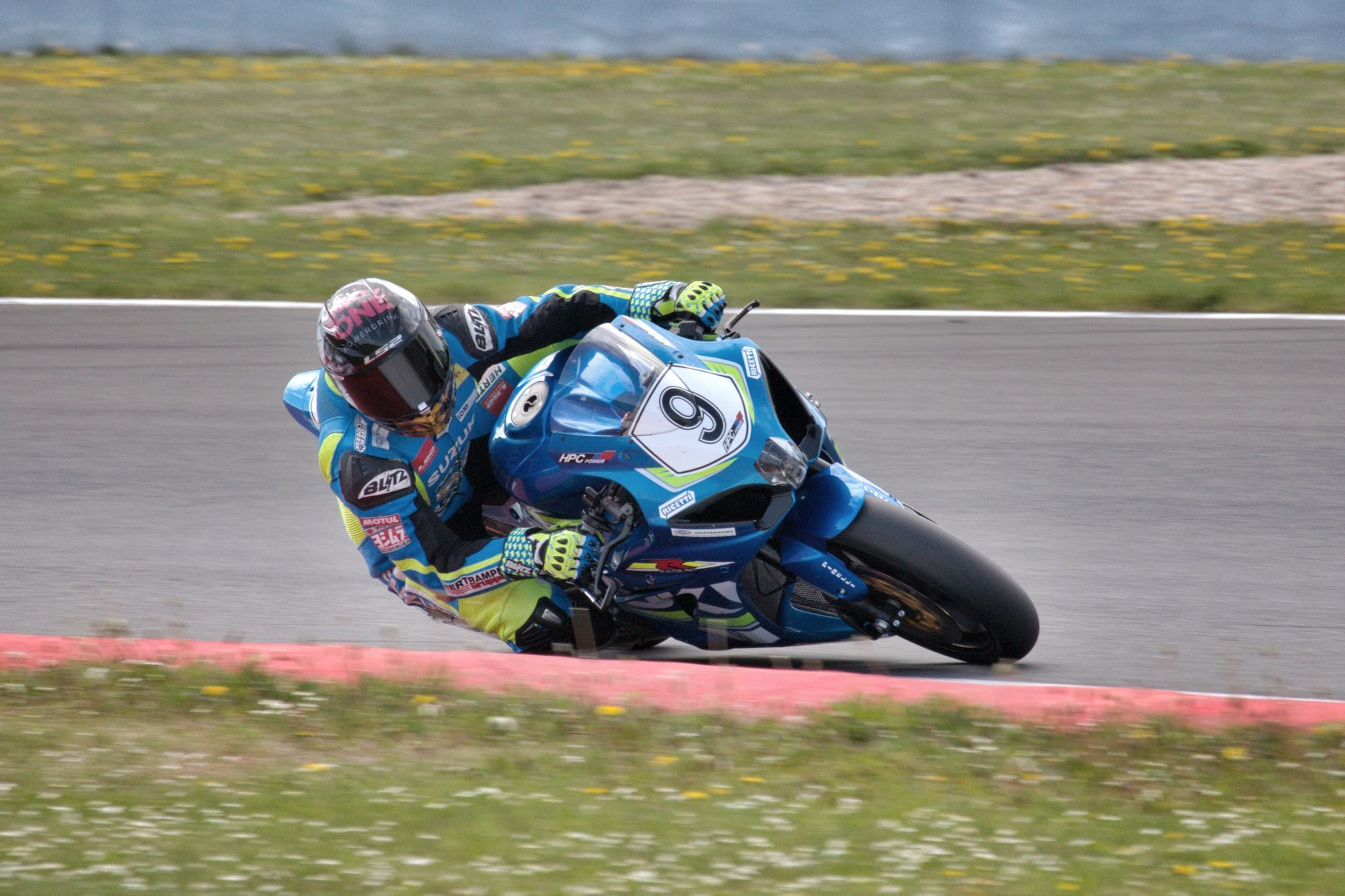 Dominic Schmitter - HPC-Power Suzuki Racing - IDM Superbike