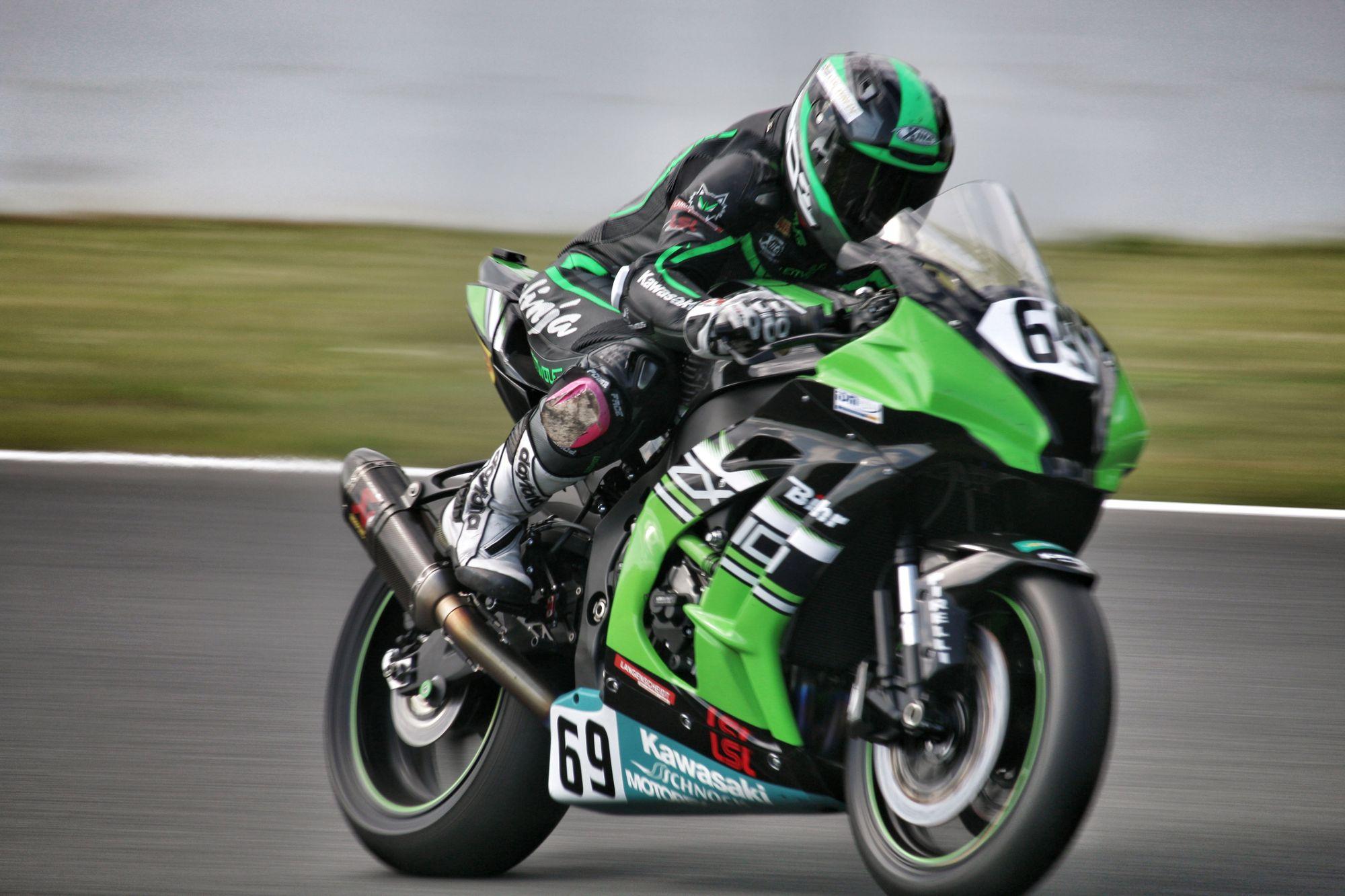 IDM 2018 Motorsportarena Oschersleben - Lucy Glöckner - Kawasaki Schnock Team Motorex
