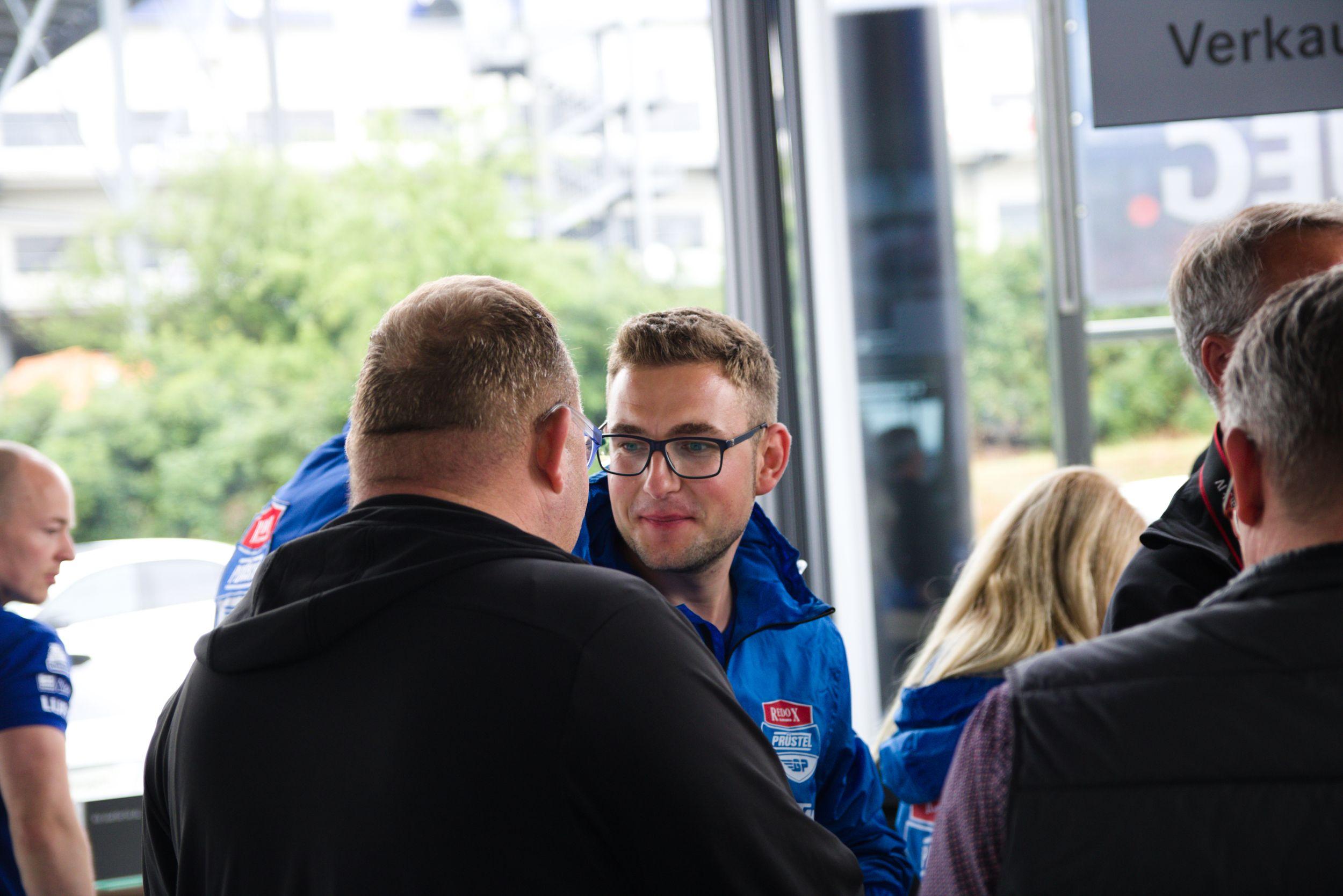Florian Prüstel - PrüstelGP Autogrammstunde am Sachsenring 2018