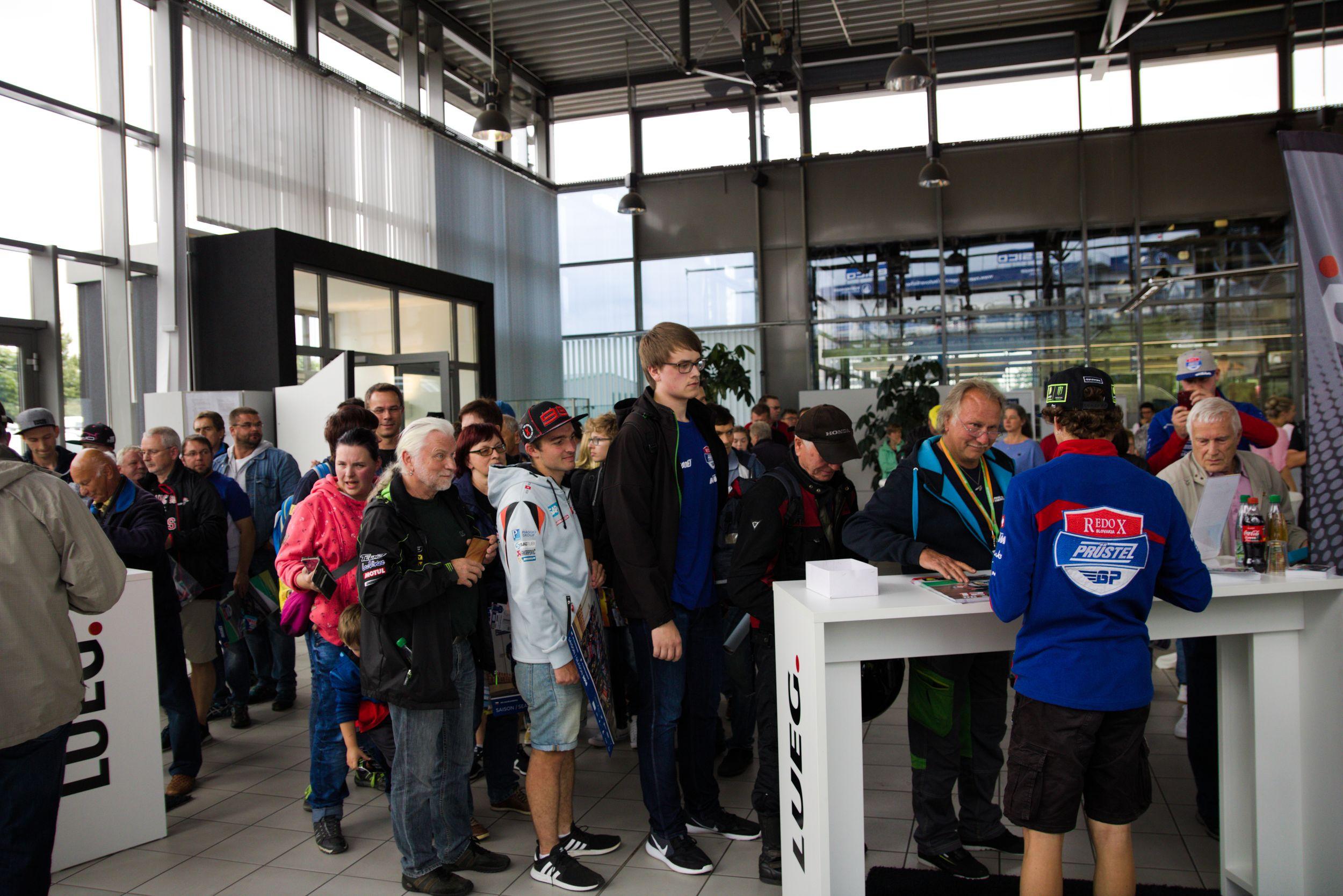 PrüstelGP Autogrammstunde am Sachsenring 2018