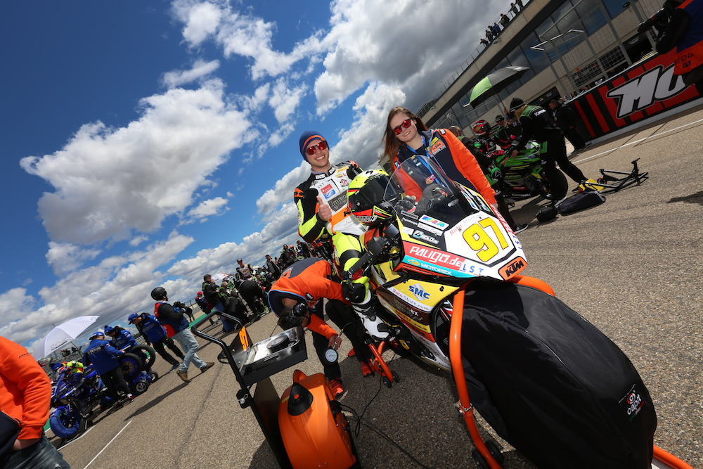 Max Kappler blickt positiv auf das Rennen in Assen.