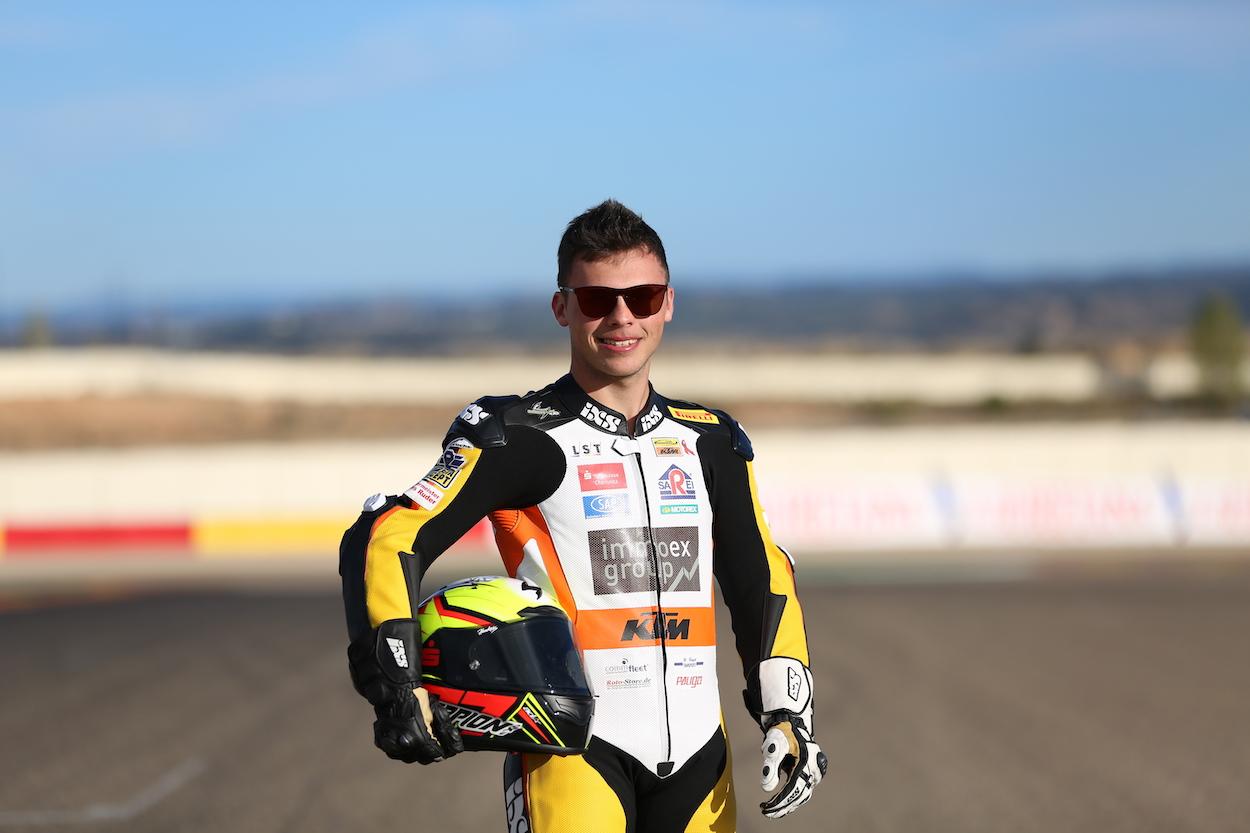 Max Kappler im Motorland Aragon.