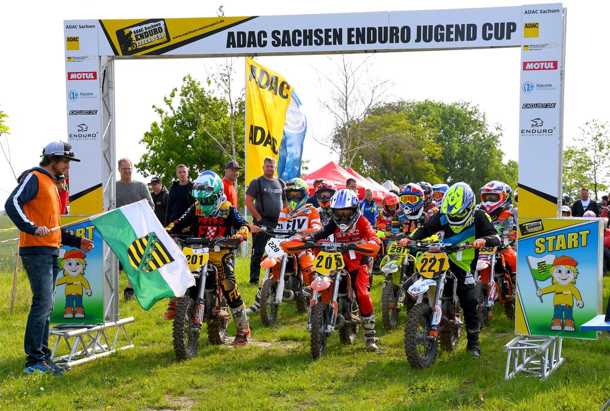 ADAC Sachsen Enduro Jugend Cup 2019 in Dahlen