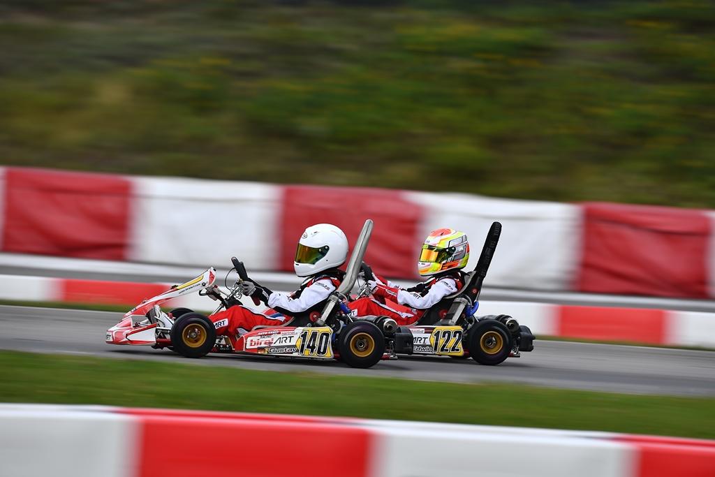 packende Zweikämpfe beim ADAC Kart Cup 2020 in Wackersdorf