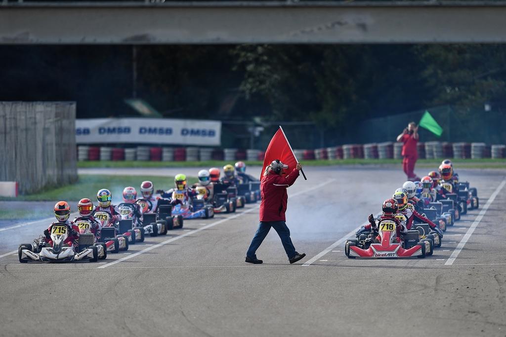 Spannende Rennen im ADAC Kart Cup 2020