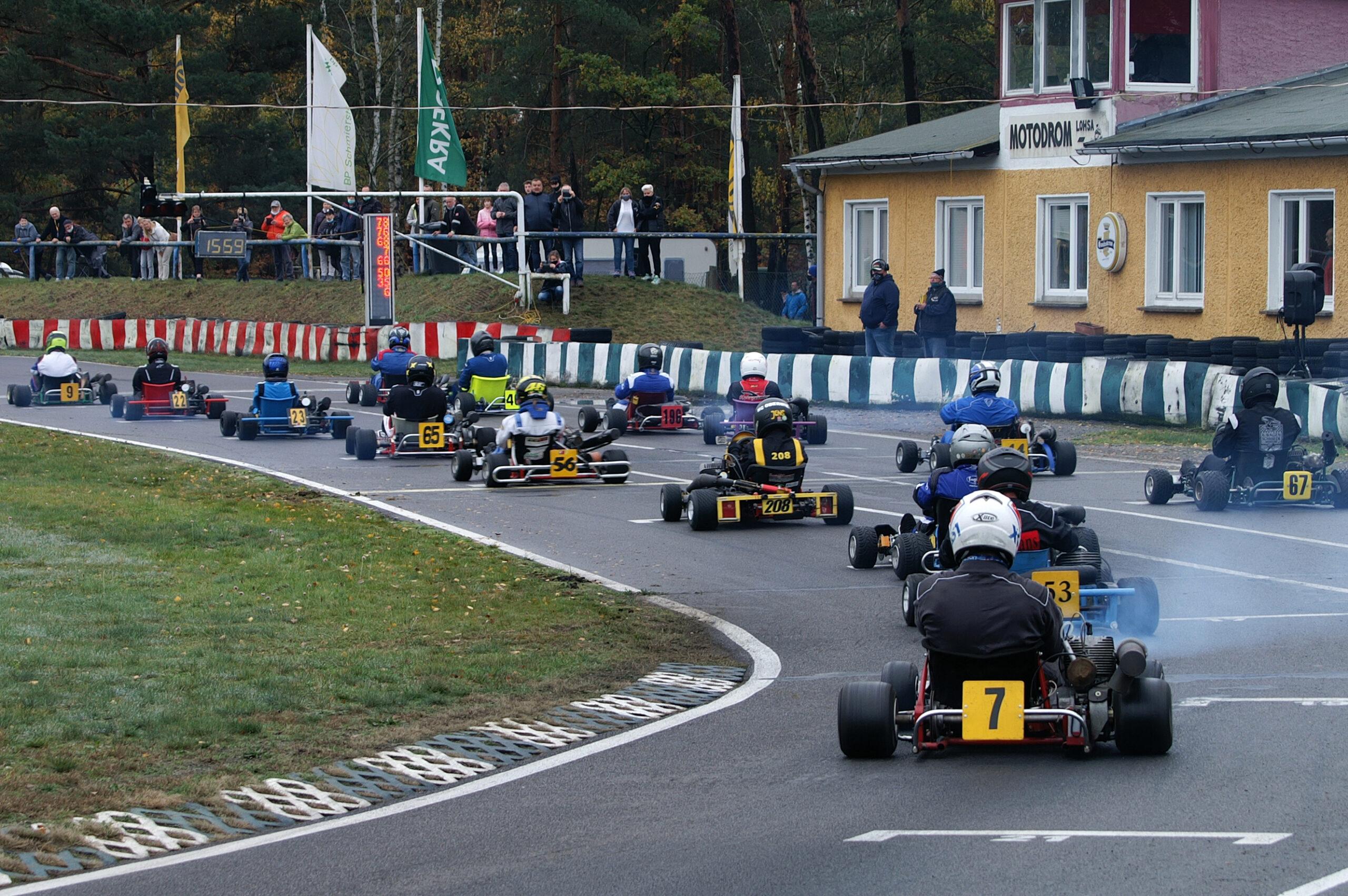 Saisonfinale des Ostdeutschen ADAC Kart Cup 2020 in Lohsa - Foto: © ADAC Sachsen e. V.