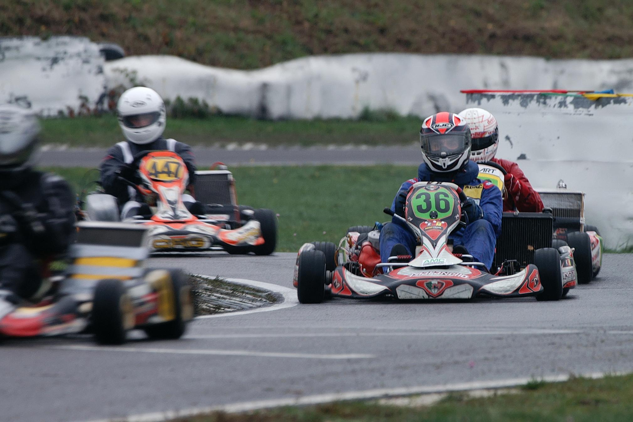 Spannendes Saisonfinale des Ostdeutschen ADAC Kart Cup 2020 in Lohsa - Foto: © ADAC Sachsen e. V.